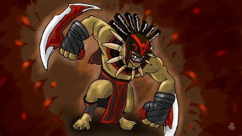 dota  bloodseeker hero game wallpapers hd
