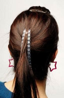 easy banana clip hairstyles   occasion