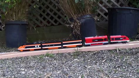 Lego Horizon And City Train Crash