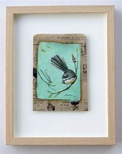 quotfantail flutterquot by santie cronje santie cronje art With what kind of paint to use on kitchen cabinets for ceramic bird wall art