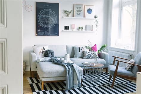 bilder wohnzimmer wohnzimmer neu einrichten kupfer ros 233 und blau