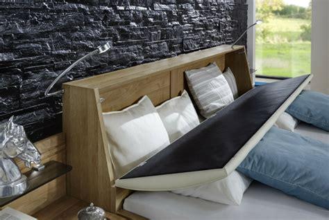 t 234 te de lit avec rangement gain de place et d 233 coration
