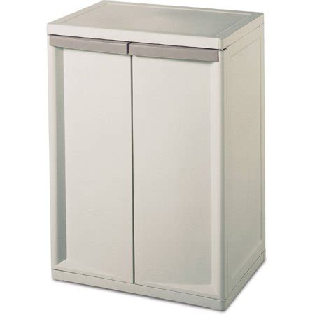 Storage Cabinets Walmart - sterilite 2 shelf storage cabinet walmart