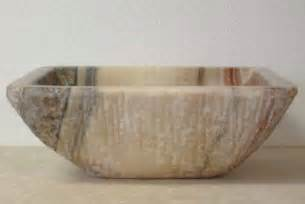 Sink Bowls For Bathrooms by Rectangular Stone Sinks Rectangular Stone Vessel Sinks