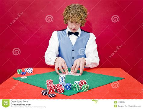 shuffling cards royalty  stock images image