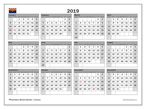calendar arizona michel zbinden en