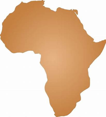 Africa Outline Clipart Map Clip Blank Vector