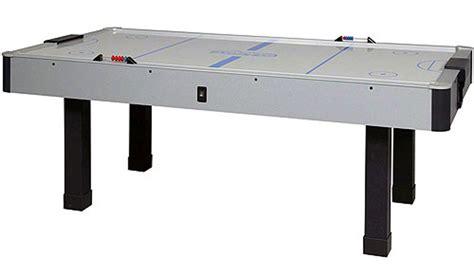 air hockey table dimensions dynamo air hockey tables dynamo arctic wind air hockey table