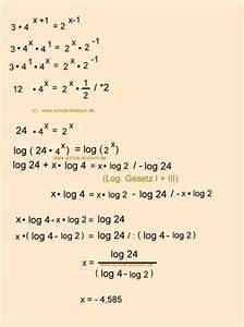 Lösungsmenge Berechnen : logarithmen exponentialgleichungen berechnen 10 klasse realschule gymnasium ~ Themetempest.com Abrechnung