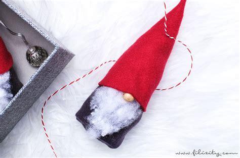 Wichtel Basteln Ohne Nähen  Süße Weihnachtsdeko Und