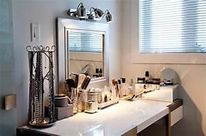 Meuble Pour Se Maquiller : clairer son coin maquillage multi luminaire ~ Dallasstarsshop.com Idées de Décoration