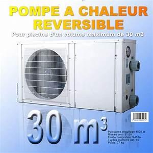 Pompe à Chaleur Gaz Prix : pompe chaleur piscine r versible waterclip pour bassin ~ Premium-room.com Idées de Décoration
