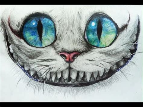 How To Draw Cheshire Cat3 Youtube