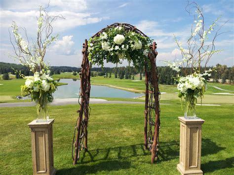Garden Decoration Courses by Wedding Flower Ideas For A Golf Club Setting Dahlia