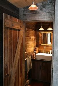 Rustic Cabin Bathroom - Rustic - Bathroom - new york - by
