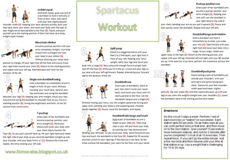 fitness update  spartacus workout