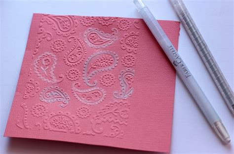 coloring embossed texture  crafter crayons  gelatos faber castell design memory craft
