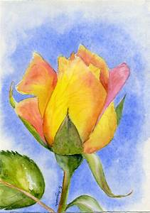 498 best images about Art: Watercolor Flowers 3 on ...