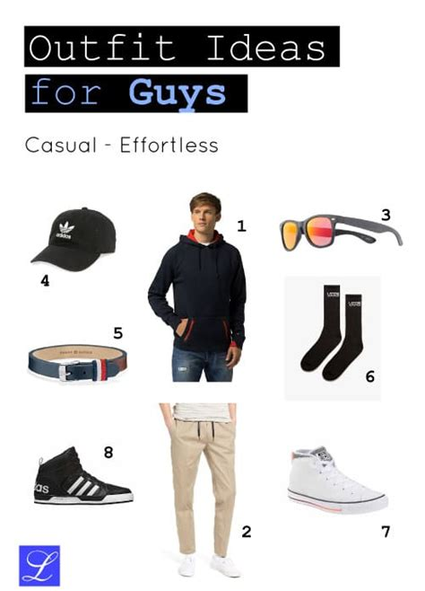 Cool Casual Back to School Outfit Ideas for Guys That Are Awesome - Metropolitan Girls