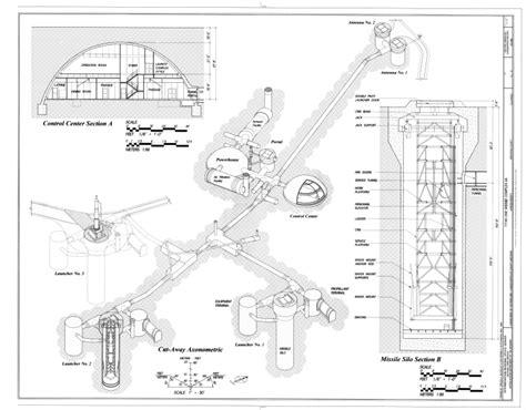 filecutaway axonometric control center section