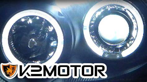 Motor Installation Video Halo Led Projector Headlights