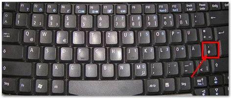 wo ist die raute taste auf der tastatur techfrage