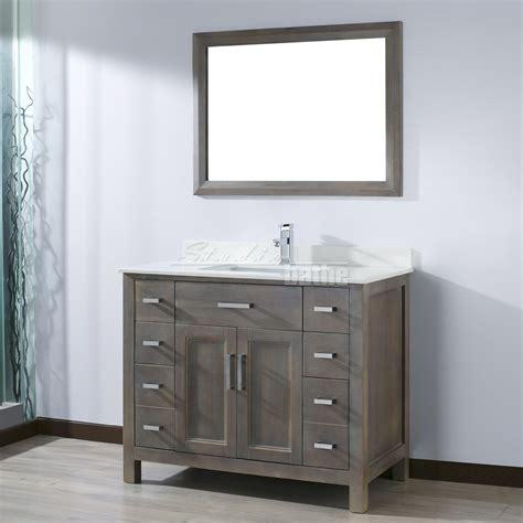 ikou  kelly  traditional single sink bathroom vanity