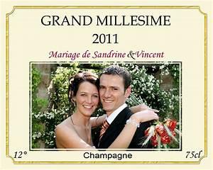 Etiquette Champagne Mariage : etiquette champagne gratuite a imprimer dl86 jornalagora ~ Teatrodelosmanantiales.com Idées de Décoration