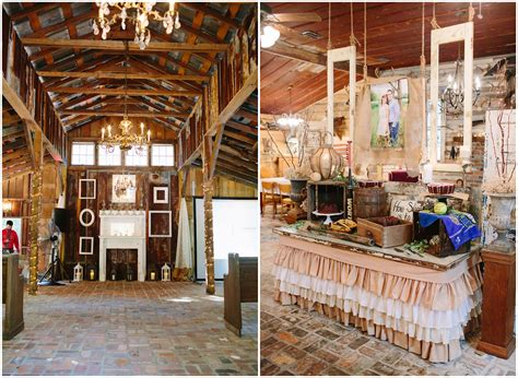 Barn Wedding Decorations : Southern Elegant Barn Wedding