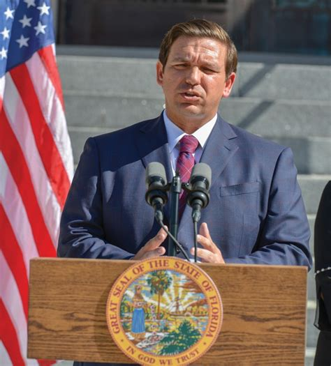 Gov. Ron DeSantis has come out blazing on a variety of ...