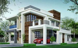 Proposed Contemporary Model House - Design Architecture