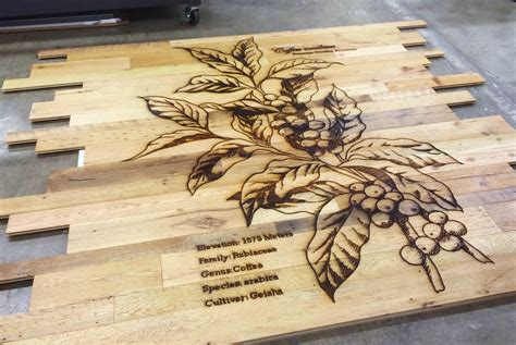 Laser Cutting, Inc. large format wood wall cladding laser
