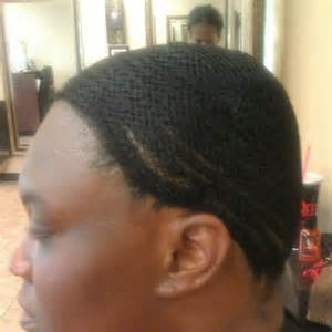 Sew in Weave with Net