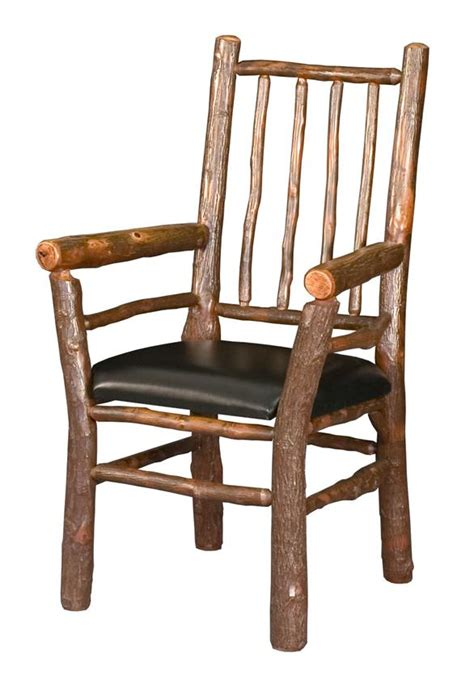 log cabin rustic lodge spindle chair