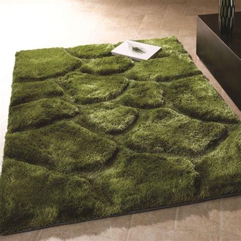 teppich stein teppich shaggy 3d stein design neu modern rot beige