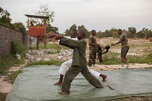 The Evening Training Sessions of the Rwandan Defense Force ...