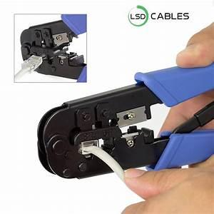 Crimping Tool Easy Handling Rj45 Connector L