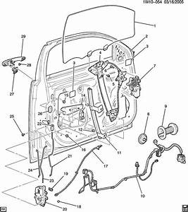 2000 Chevy Impala Door Diagram