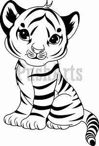 Cute Tiger Coloring Pages - GetColoringPages.com