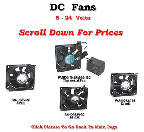 thermostat variable speed fan dc fans 12v 110 cfm variable speed temperature controlled