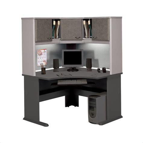 bush furniture corner desk with hutch bbf series a hansen cherry corner desk with hutch