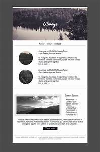 25 best ideas about newsletter template free on pinterest With how to create email marketing templates