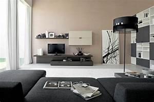 Graue Möbel Welche Wandfarbe : 44 wohnideen wie man ein ansprechendes zuhause einrichtet ~ Markanthonyermac.com Haus und Dekorationen