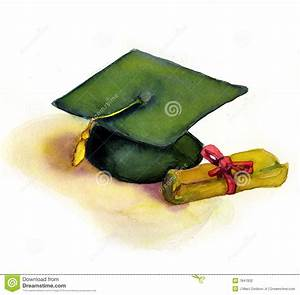 Graduation Cap And Diploma Stock Photography - Image: 7847832