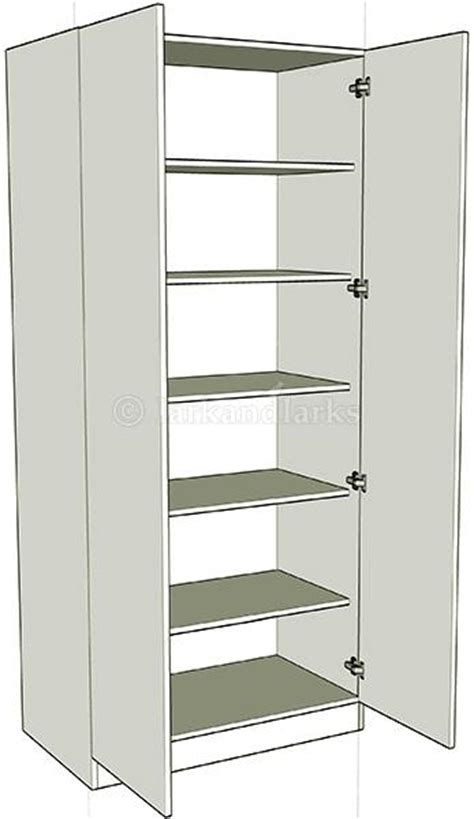 Wardrobe With Shelves Only by Wardrobe Shelf Units Lark Larks