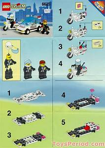 Lego 6625 Speed Trackers Set Parts Inventory And
