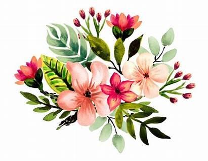 Clipart Watercolor Tropical Pineapple Floral Tropischen Aquarell