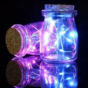 Romantic, Xmas, 10, Led, Colours, Seed, Vase, Lights, Wedding, Centrepiece, Fairy, Lights