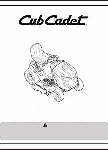 Cub Cadet Ltx 1050 Lawn Mower Operator U0026 39 S Manual Pdf View