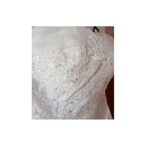 robe de mariée bustier strass robe de mari 233 e tr 232 s qualit 233 de bustier strass et